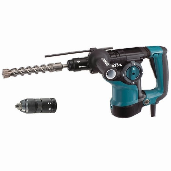 Martillo Combinado Makita HR2811FT + Portabrocas