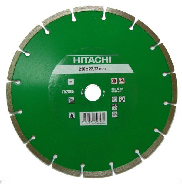 Disco diamante Hitachi D.230 mm