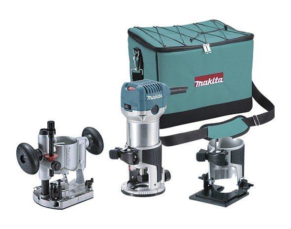 Fresadora multifunción RT0700C pinza 6 y 8 mm